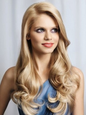 Lace Front Heat Friendly Synthetic Wig For Woman
