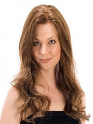 Wavy Remy Human Hair Lace Wig For Woman