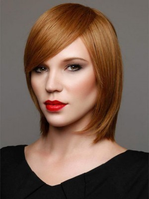 New Style Straight Synthetic Front Lace Wig For Woman
