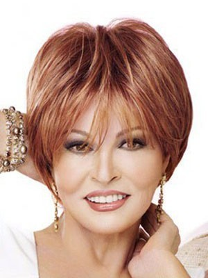 Charming Lace Front Short Straight Wig For Woman
