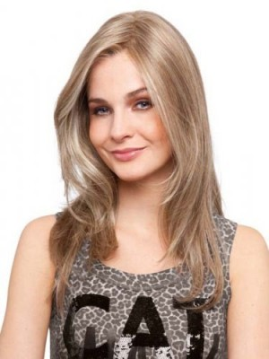 Elongated Length Human Hair Lace Front Wig For Woman