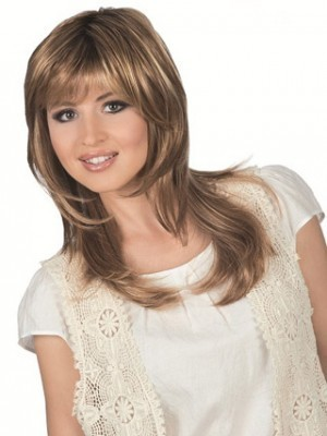Nice Wavy Human Hair Lace Wig For Woman