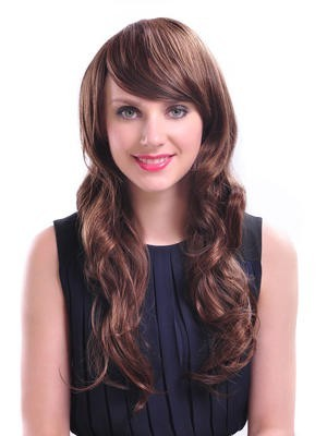 Attractive Long Synthetic Soft Wavy Wig