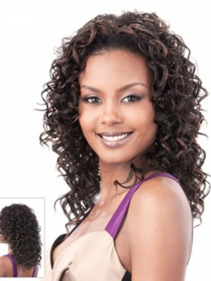 Pretty Curly Synthetic Lace Front Wig
