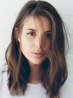 Natural Straight Lace Front Human Hair Wig