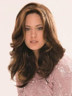 Admirable Lace Front Synthetic Wavy Wig