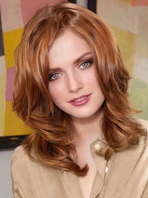 Most Popular Lace Front Synthetic Wavy Wig