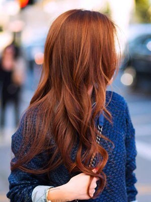 Brilliant Wavy Human Hair Lace Front Long Wig