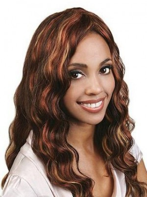 Deep Wavy Full Lace Remy Human Hair Wig For Woman