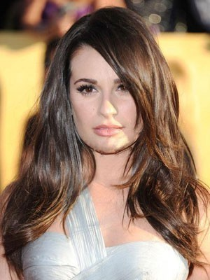 Glamorous Lace Front Long Synthetic Wig