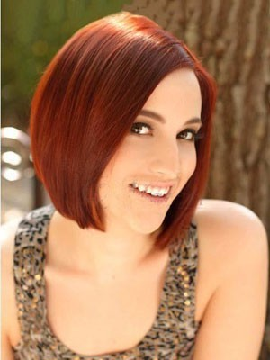 Popular Lace Front Straight Synthetic Wig