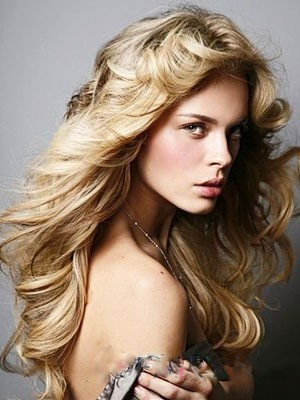 Amazing Human Hair Lace Front Wavy Wig