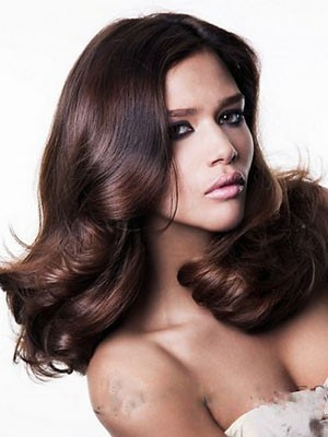 Glamorous Synthetic Wavy Lace Front Wig