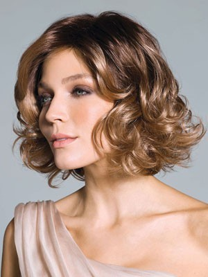 Seductive Lace Front Synthetic Wavy Wig
