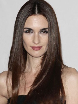 Natural Synthetic Straight Lace Front Wig
