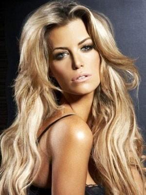Modern Wavy Lace Front Long Human Hair Wig