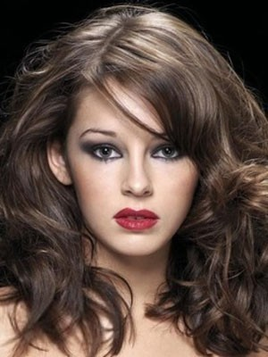Stupendous Lace Front Wavy Synthetic Wig