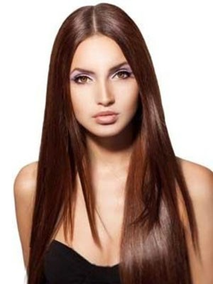New Style Synthetic Straight Lace Front Wig