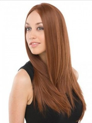 New Style Remy Human Hair Straight Lace Front Wig For Woman