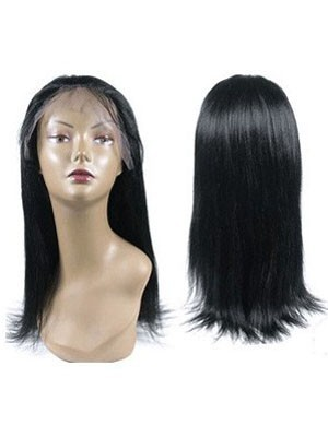 Silky Straight Textured Full Lace Wig For Woman