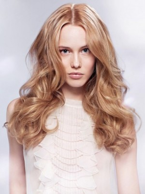 Striking Lace Front Wavy Synthetic Wig