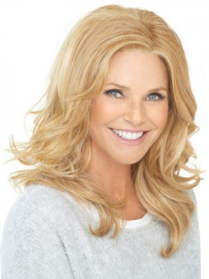Chic Lace Front Synthetic Wavy Wig