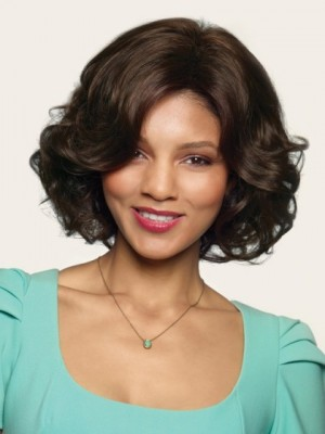 Prodigious Human Hair Lace Front Wavy Wig