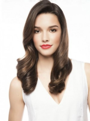 Affordable Lace Front Wavy Synthetic Wig