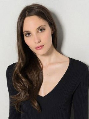 Stunning Human Hair Wavy Lace Front Wig