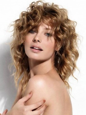 Attractive Wavy Long Lace Front Synthetic Wig