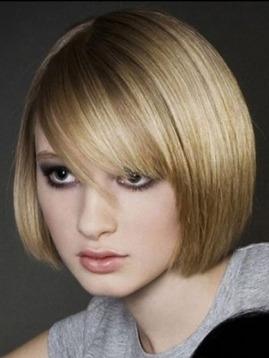 Full Lace Human Hair Lovely Wig For Woman