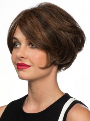 Fabulous Human Hair Wavy Lace Front Wig