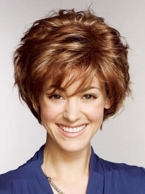 100% Human Hair Full Lace Short Wig For Woman
