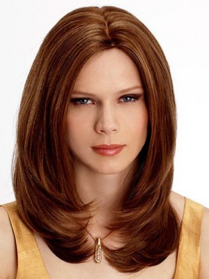 Classic Straight Lace Front Human Hair Wig