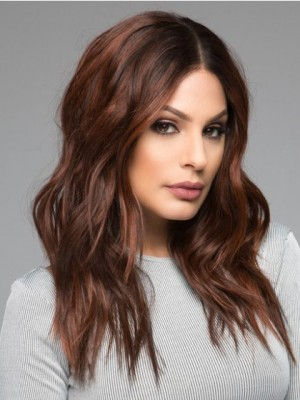 Romantic Synthetic Wavy Lace Front Wig