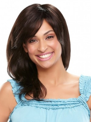 Fashionable Straight Lace Front Human Hair Wig