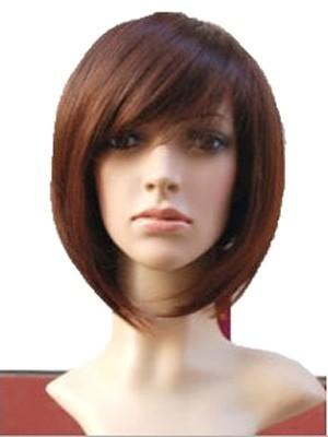 Cute Straight Bob Full Lace Wig For Woman