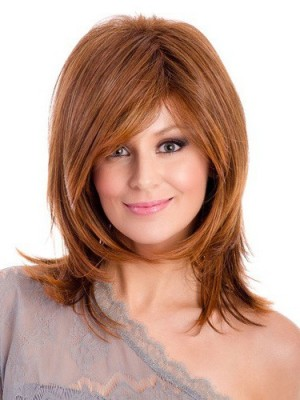 Marvelous Straight Synthetic Lace Front Wig