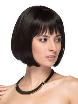Chic Straight Lace Front Human Hair Wig