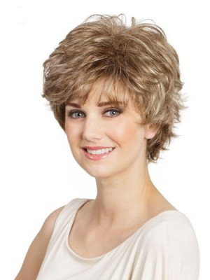 Romantic Wavy Lace Front Human Hair Wig