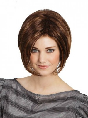 Charming Straight Lace Front Synthetic Wig