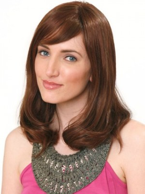 Wonderful Synthetic Straight Lace Front Wig