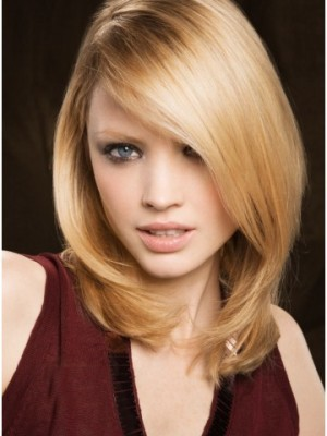 Cute Synthetic Straight Lace Front Wig