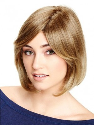 Good Synthetic Lace Front Straight Wig