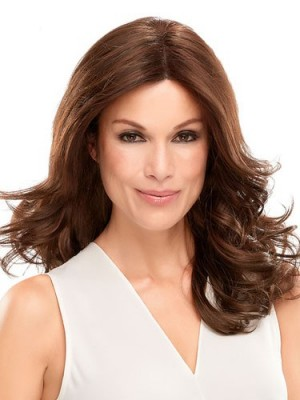 Attractive Lace Front Wavy Synthetic Wig