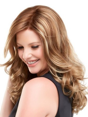 Durable Lace Front Wavy Synthetic Wig