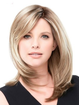 Modern Straight Lace Front Human Hair Wig