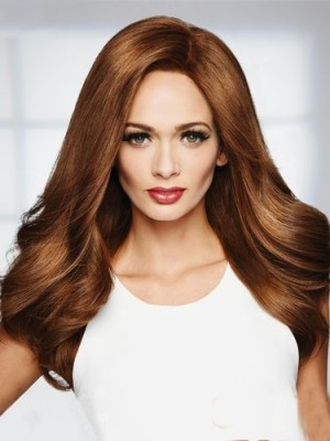 Natural Synthetic Lace Front Straight Wig