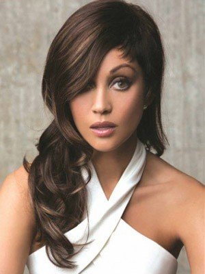 Fashion Lace Front Synthetic Wavy Wig