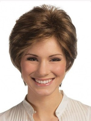 Good Looking Lace Front Remy Human Hair Straight Wig